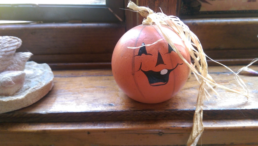 Wooden Pumpkin