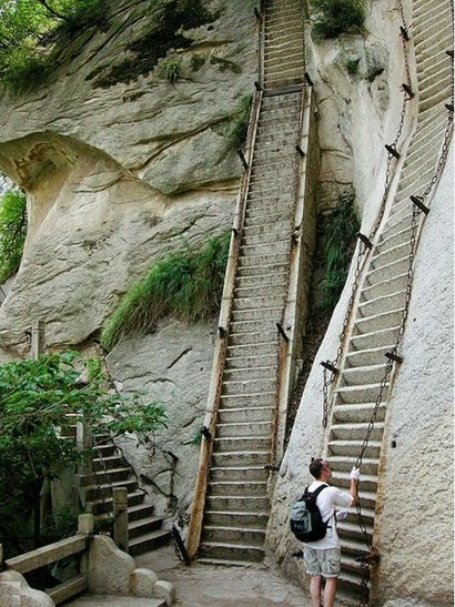 Mount Hua Vertical Stairs